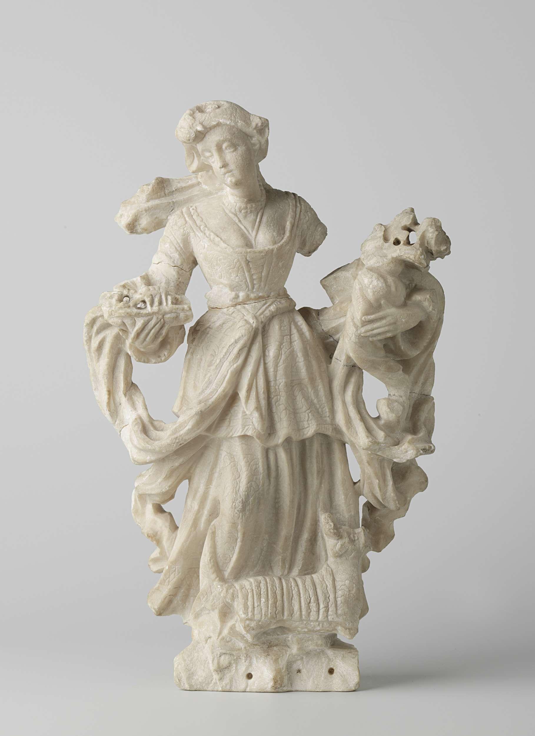 | Vrouwenfiguur, 1700 - 1800 |