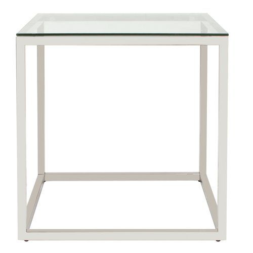Found It At Allmodern Rossi Square Stainless Steel End Table Contemporary End Tables Table End Tables