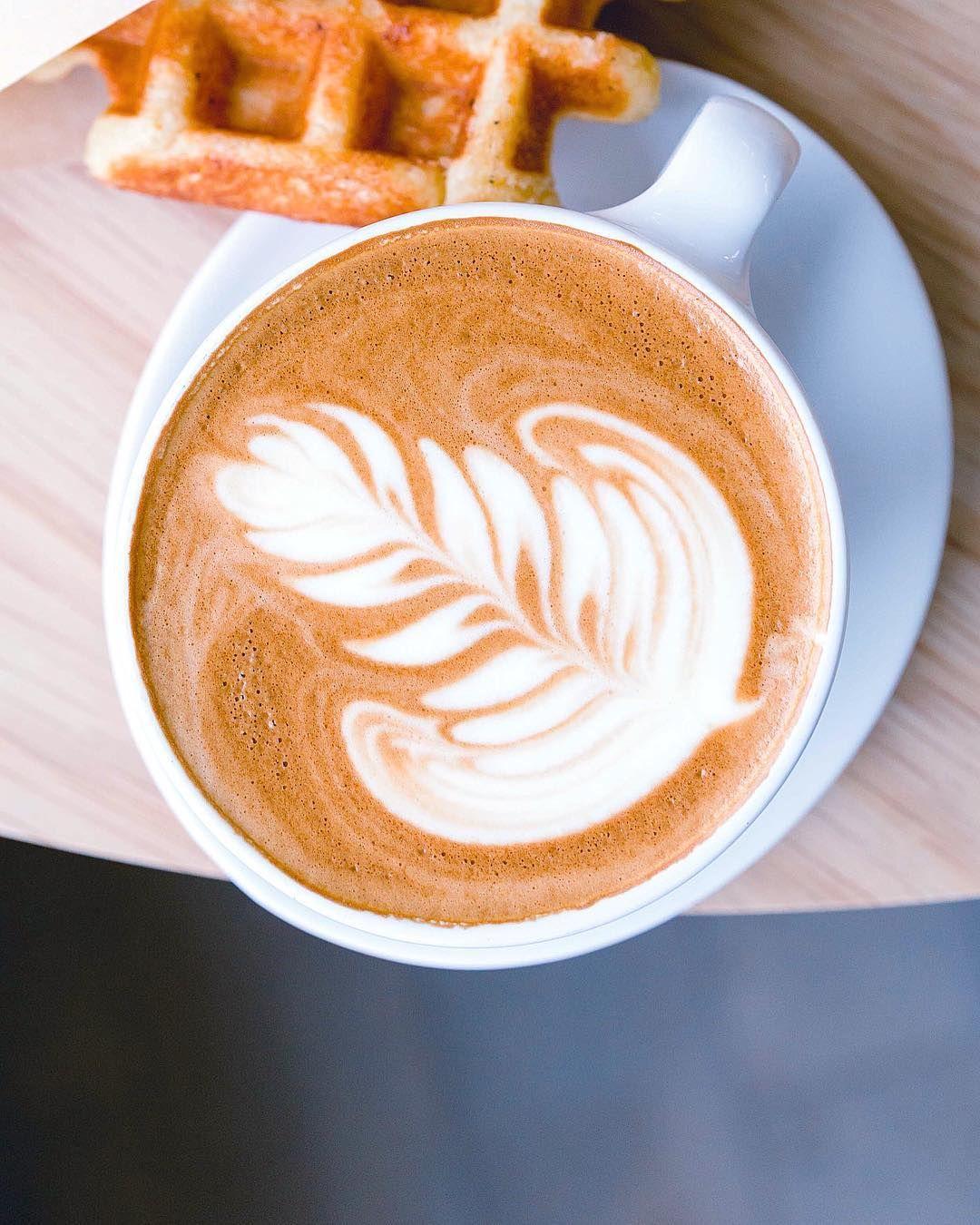 Latte Art, Cafe, Coffee, Bluebottle