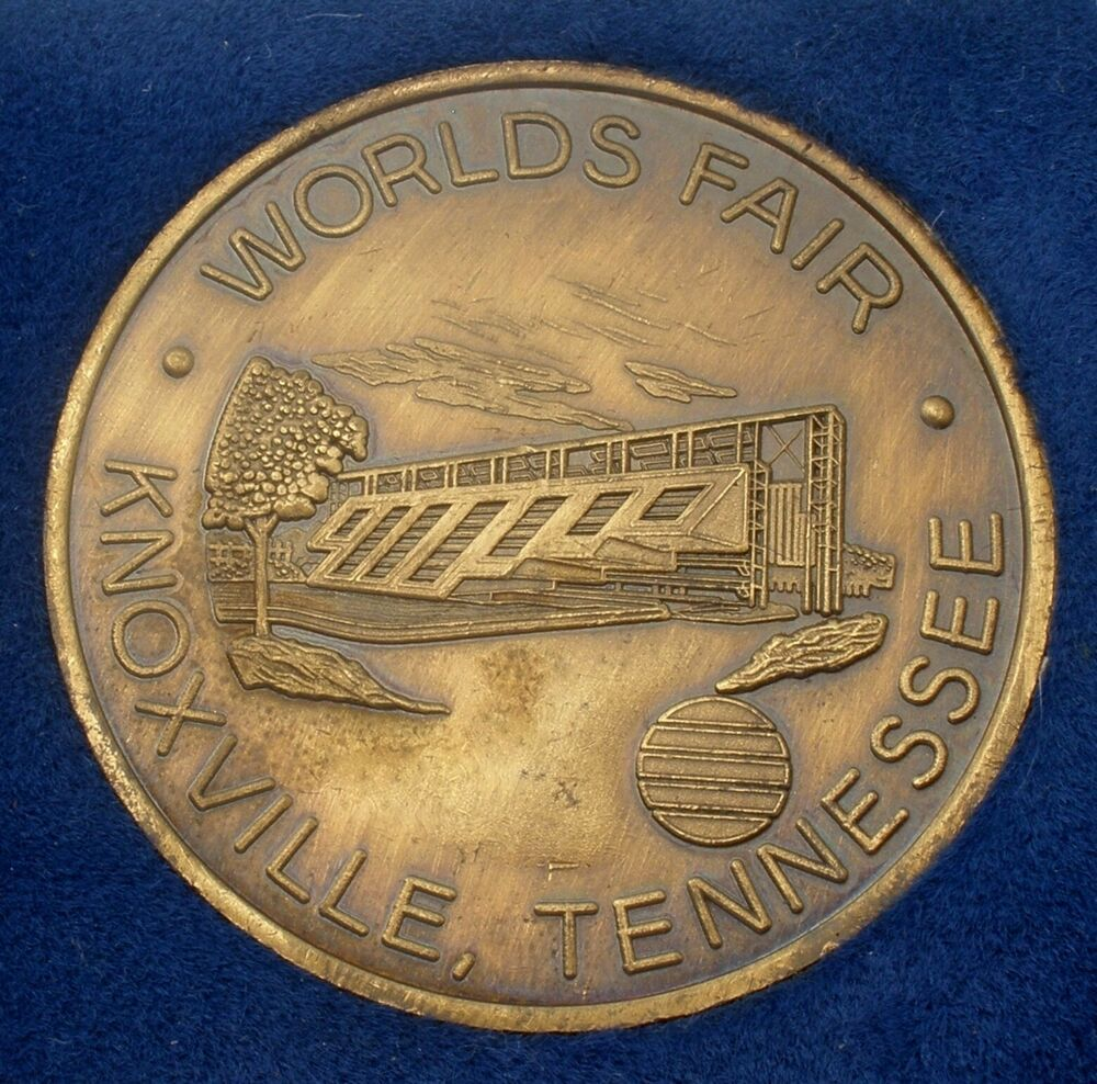 1982 Worlds Fair Coin Knoxville Tennessee United States