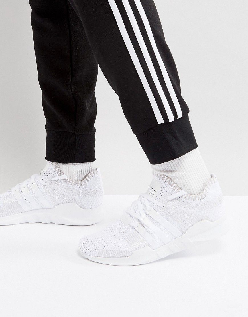 e04126e3995 ADIDAS ORIGINALS EQT SUPPORT ADV PRIMEKNIT SNEAKERS IN WHITE BY9391 - WHITE.   adidasoriginals  shoes