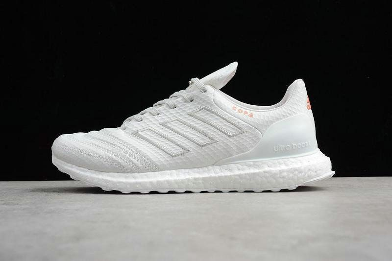 fee1cfe86bbc 2018 Shop Adidas Copa 17 1 Kith Ultra Boost UB Triple White blanc CM7895  Youth Big Boys Sneakers