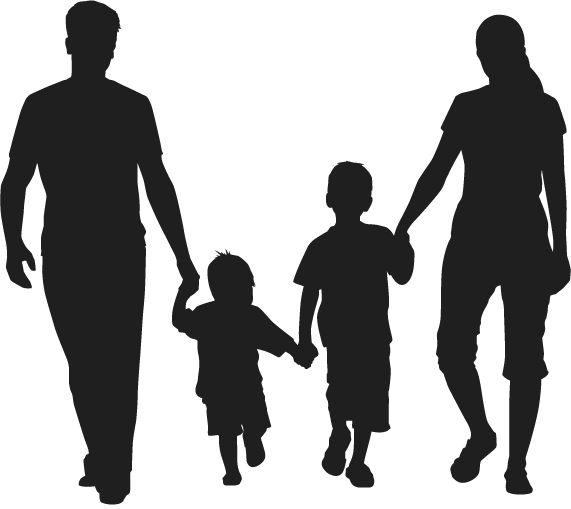 Family Silhouette Scalable Vector Graphics Family Sketch Png Download 571 509 Free Transparent Family Png Family Sketch Silhouette Family Silhouette Art