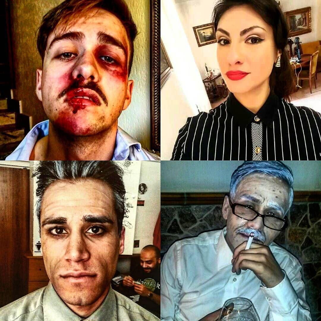 http://www.youtube.com/channel/UCqEqHuax3qm6eGA6K06_MmQ?sub_confirmation=1 My makeup #ootd #look #makeup #makeupartist #picture #picoftheday #truccoinvecchiamento #truccoanni50 #labbrospaccato #corto #vsco #working #yolo #webstagram #iphonesia #comix #teatralmente #l4l by gaia_elle_n