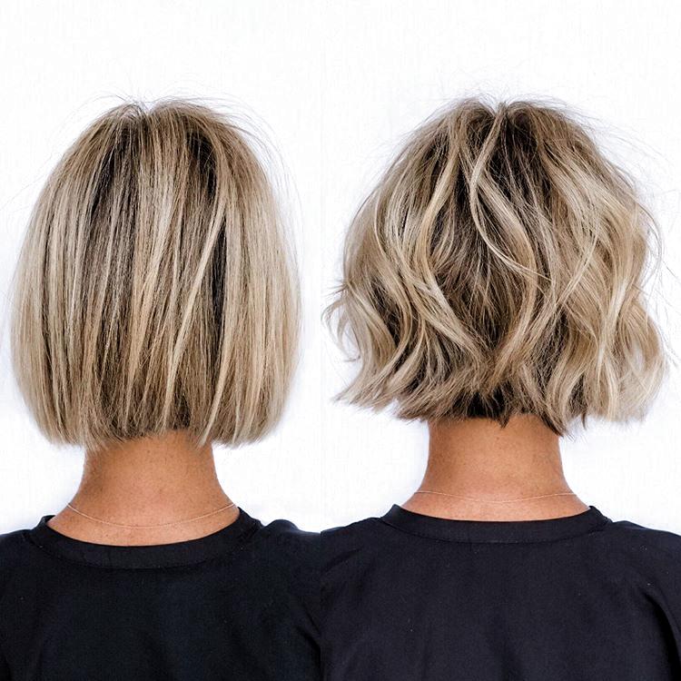 mellan långa frisyrer