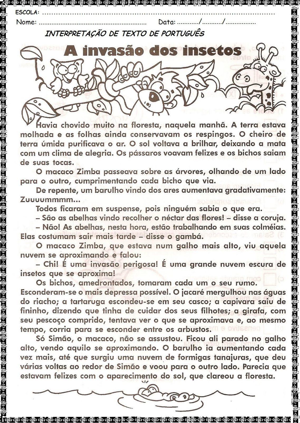 Pin Em Portugues Palavras
