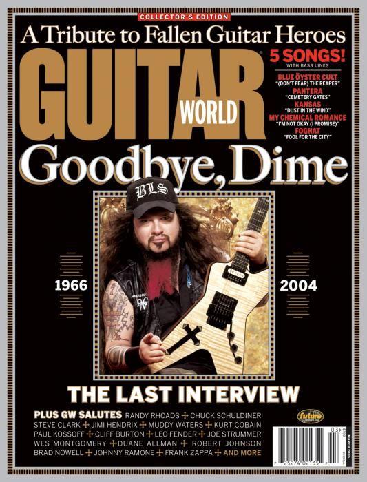 Guitar World Dime Last Interview Dimebag Darrell Songs Guitar Hero