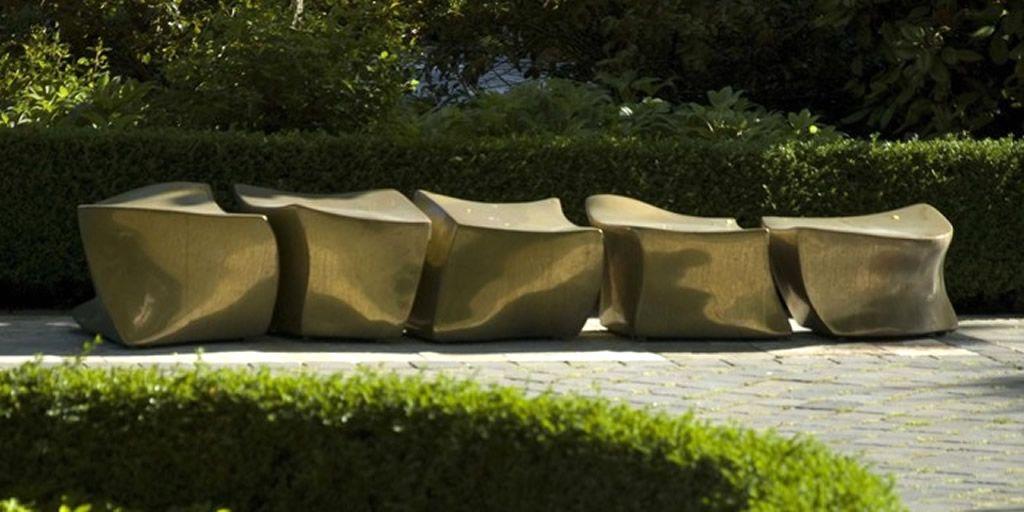 Bronze Furniture outdoor seating furniture design of bronze spine l5 benchmarie