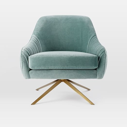 Perfect Roar + Rabbit Swivel Chair | West Elm