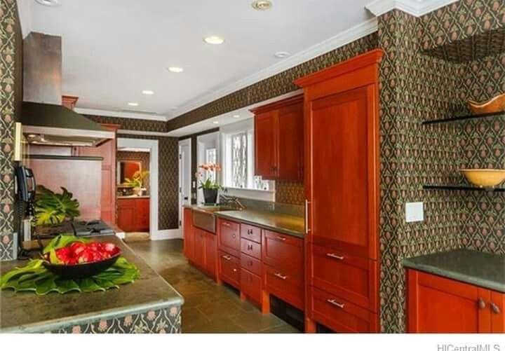 Pinmarsha Humphreysbadgett On Lovely Kitchens  Pinterest Pleasing Kitchen Design Hawaii Design Decoration