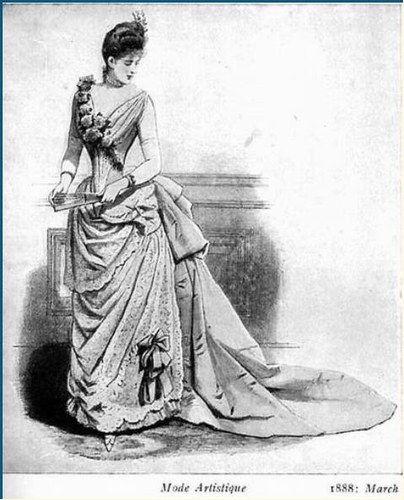 Dress. 1888
