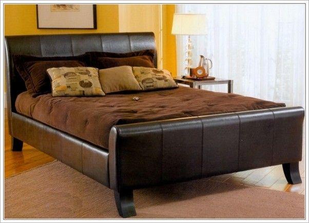 Fantastische King Size Bett Rahmen Mit Kopfteil (mit