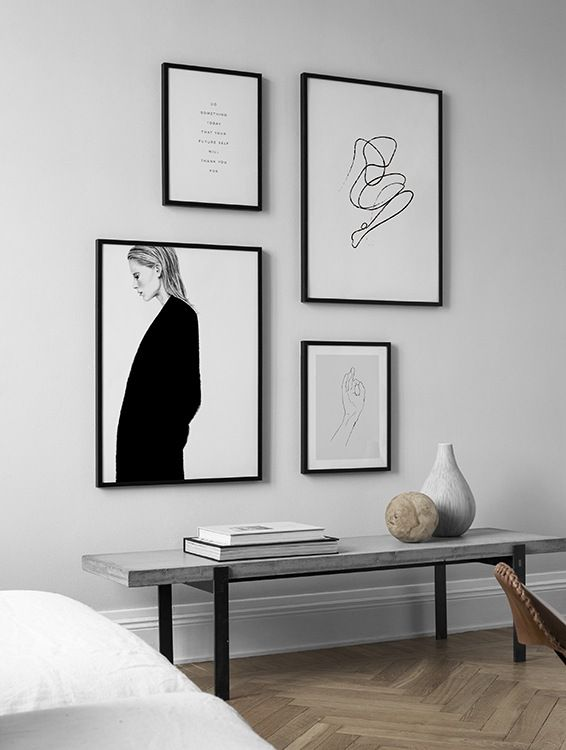 Gallery Wall And Picture Wall Inspiration Desenio Com New Place