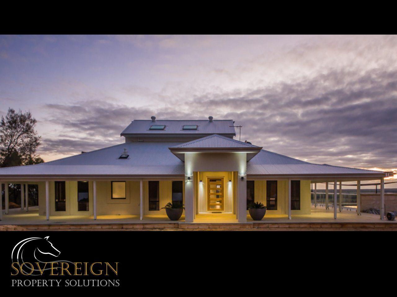 The white house on the hill See more:   #WesternAustralia #ForSale #RealEstate #LuxuryRealEstate #HorseProperty #Bullsbrook