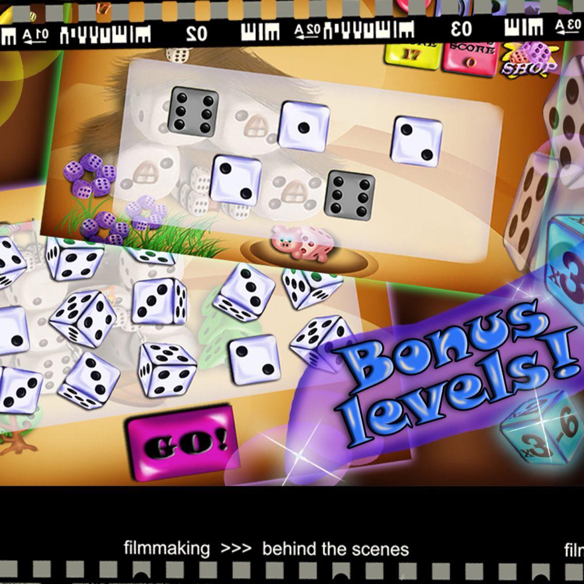 Bonus levels!! bonus yatzy yahtzee cool game play