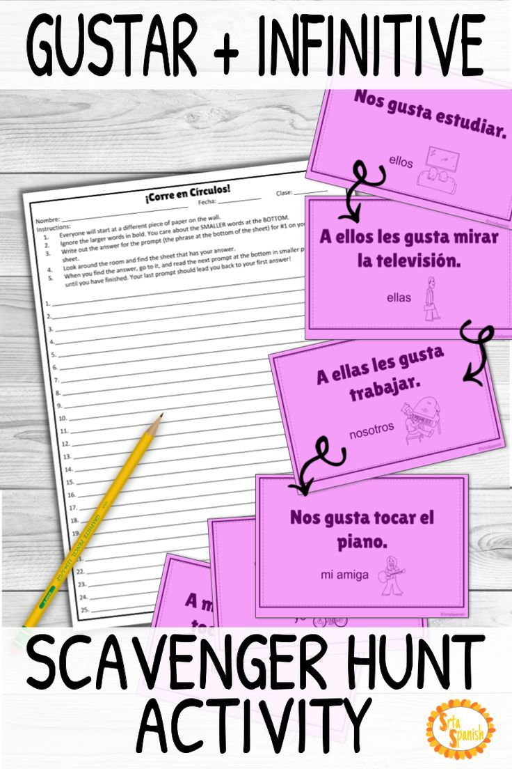 Looking For A Fun Game To Practice Gustar With Your Spanish Classes This Activity Will Get High School Spanish High School Spanish Classroom Spanish Classroom [ 1104 x 736 Pixel ]