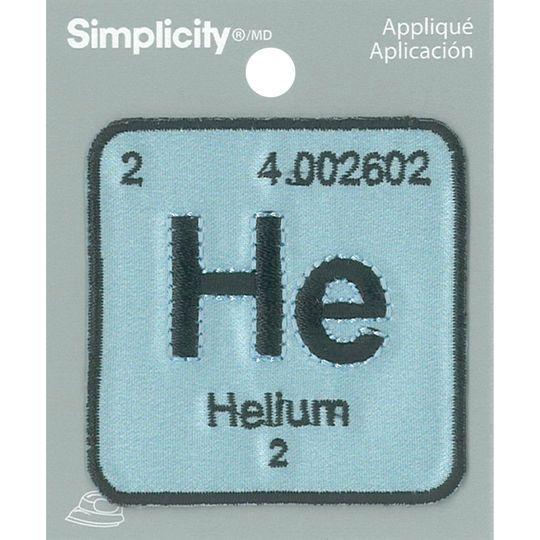 Simplicity periodic table iron on appliqu theme sciencemad simplicity periodic table iron on appliqu urtaz Gallery