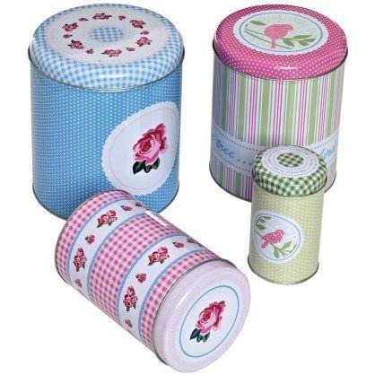 #Dosen  #RBVBirkmann  #Gebäck  #Muttertag #RBV #Birkmann #Gebäckdosen  RBV Birkmann Gebäckdosen 4er-Set Cottage Garden. Ob Selbstgebackenes wie Plätzchen, Kekse und Kleingebäck oder das Backzubehör wie Plätzchenausstecher, Kleinteile... finden in dem schönen  Dosen-Set Cottage Garden stilvoll ihren Platz. #nikolausbacken