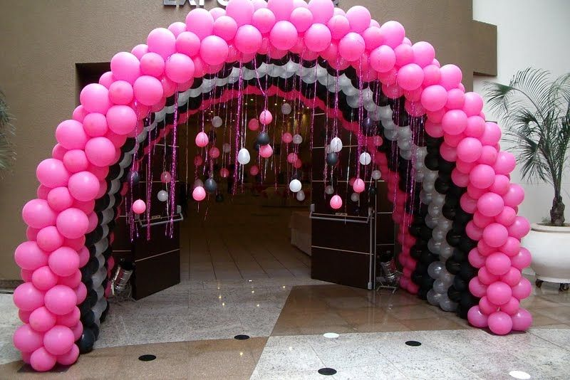 19 Best Examples Of Balloon Decorations Barbie Party Decorations