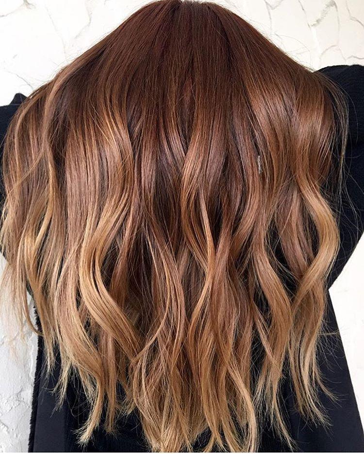 Bilder blond haarfarbe braun Balayage braun