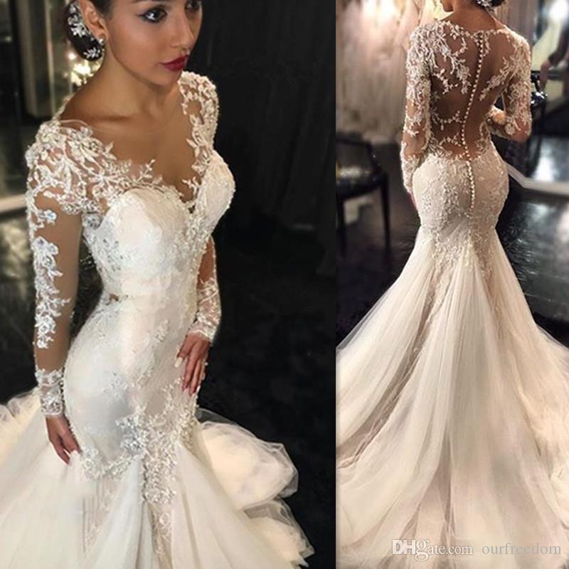 Vestidos de novia en dubai