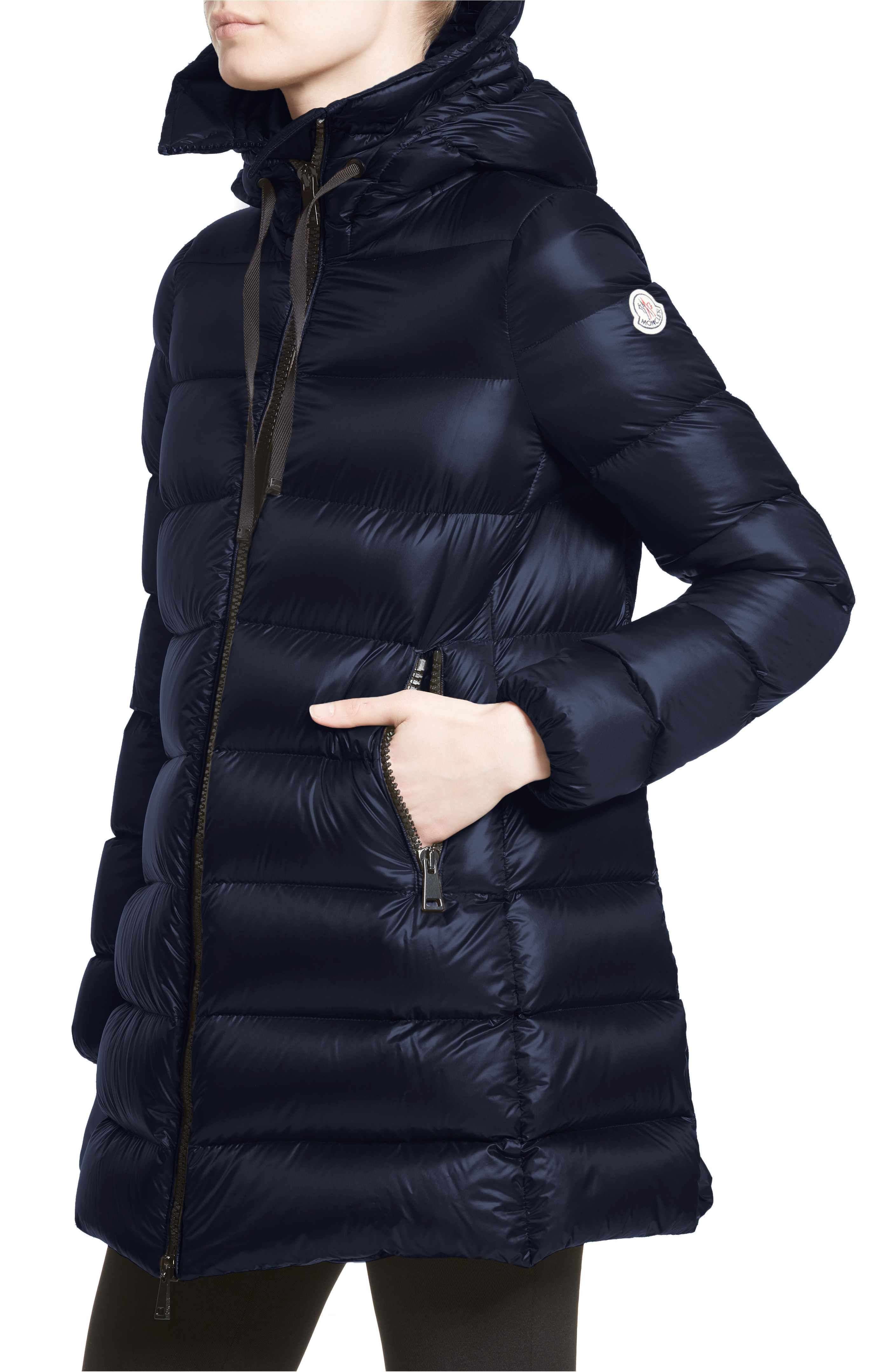 7991180f1eb8 Moncler  Suyen  Water Resistant Hooded Down Puffer Coat