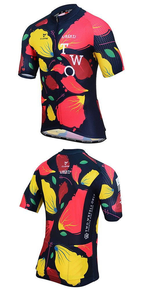 Diseño Indumentaria (remera deportiva) Ciclismo Mujer a47d0b955394f