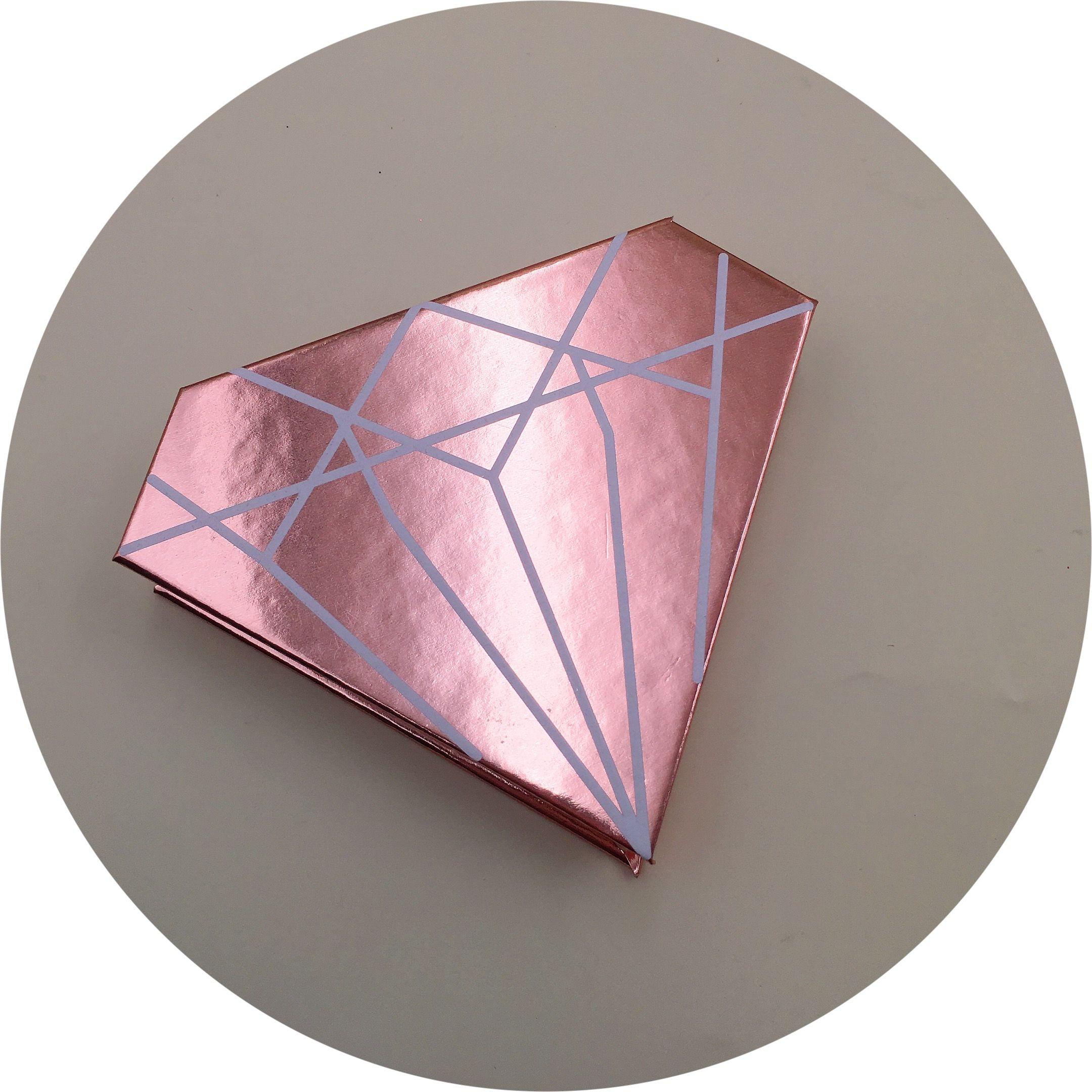2020 的 Diamond rose gold custom eyelash packaging