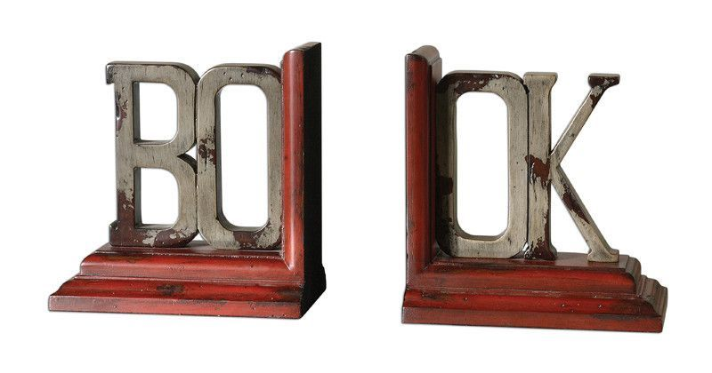 Uttermost 19589 Book Bookends S/2 Accessories