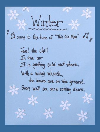 Winter song ~ click and browse hundreds more free ideas ...