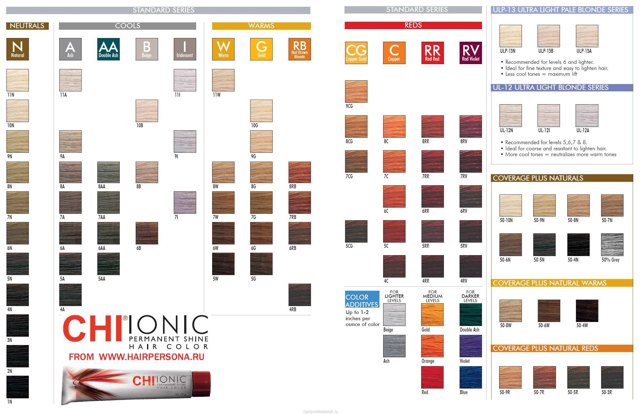 Chi Color Chart 6rr Hair Color Amp Cuts Pinterest