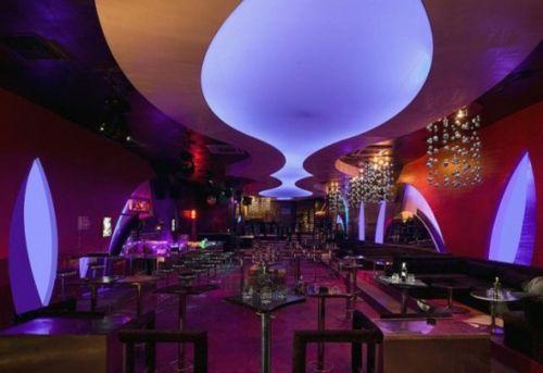 Beleuchtung Restaurant   Bunte Lichter Beleuchtung Zimmerdecke Restaurant Urban Stil