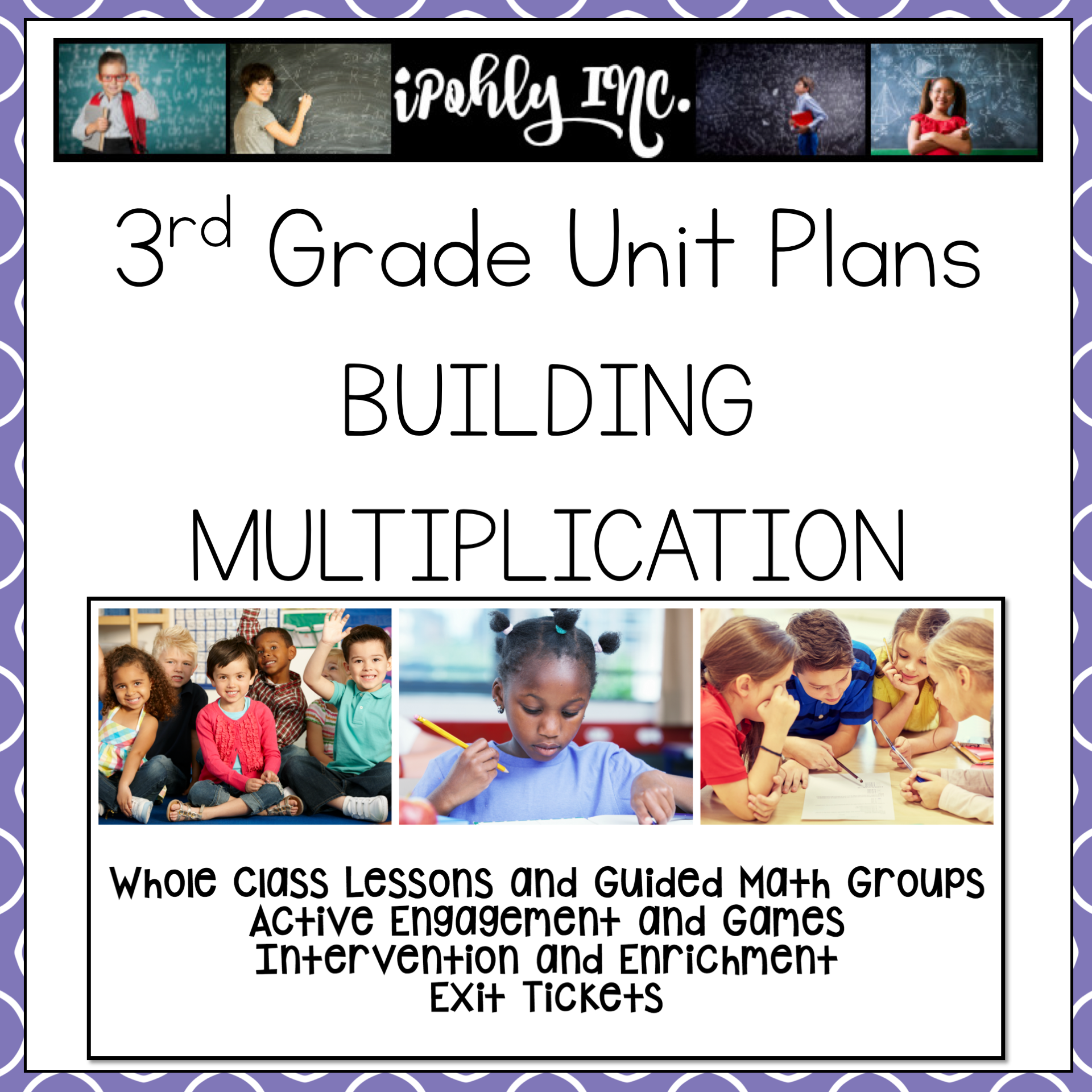 Building An Understanding Of Multiplication 3rd Grade Math