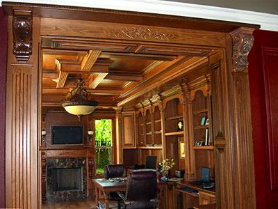 office wood paneling. Paneled Office   Entrance To With A Custom Door Jamb Raised Panels Wood Paneling O