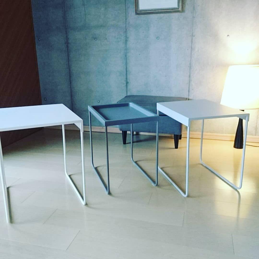 Mitsue Isokaneさんはinstagramを利用しています Ikeaのネストテーブルは 5999円の北欧デザイン オフホワイト ライトグレー グレーの 絵になる3点セット Ikea インテリア好きな人とつながりたい インテ Coffee Table Dining Table Home Decor