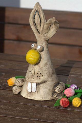 Photo of Funny ceramic bunny