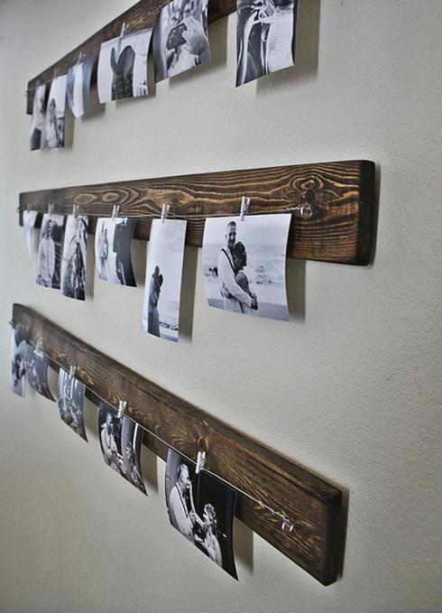 10 Facons D Accrocher Des Photos Autrement Que Dans Des Cadres Home Decor Diy Wall Decor Decor