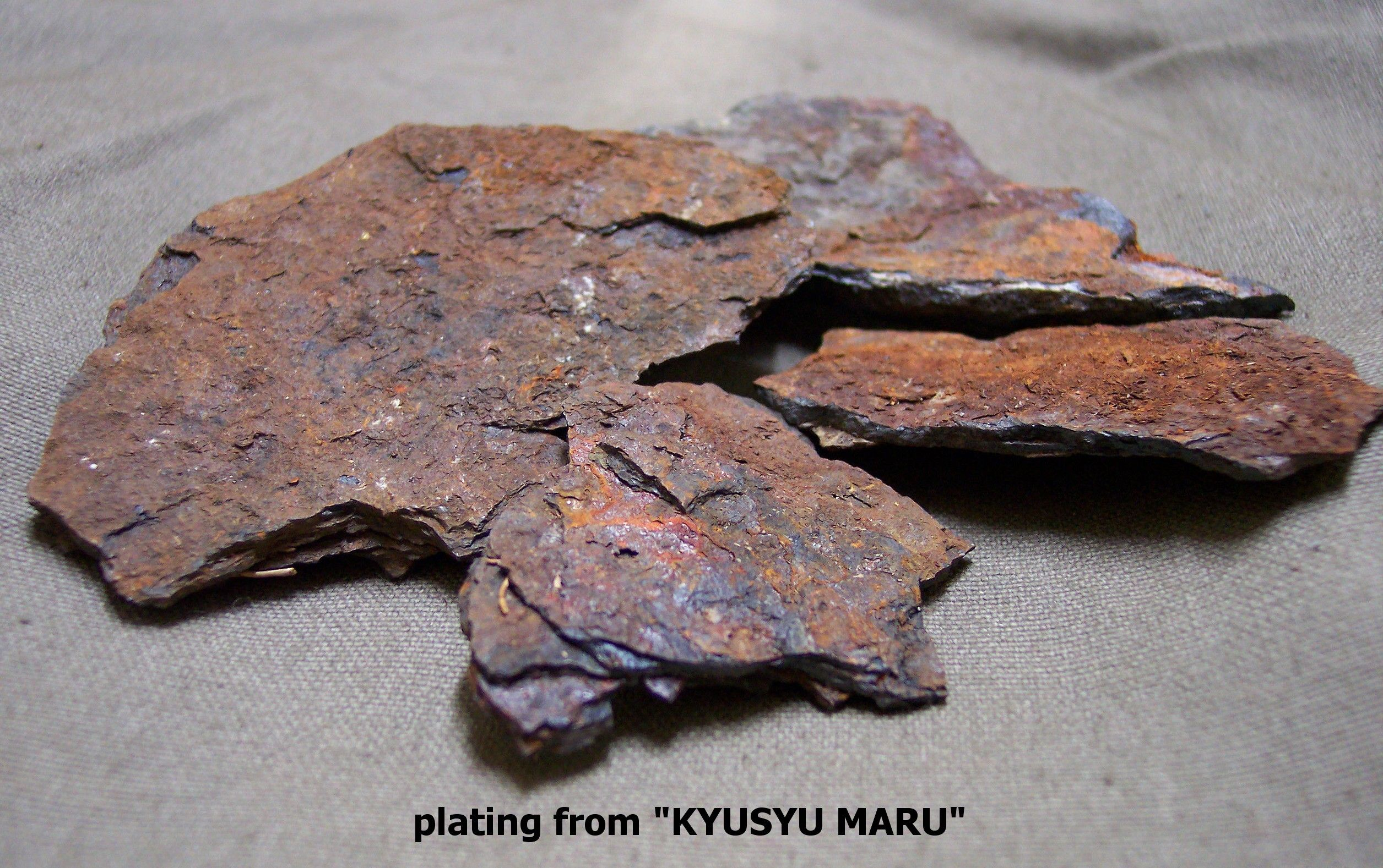 Plating From Kyusyu Maru