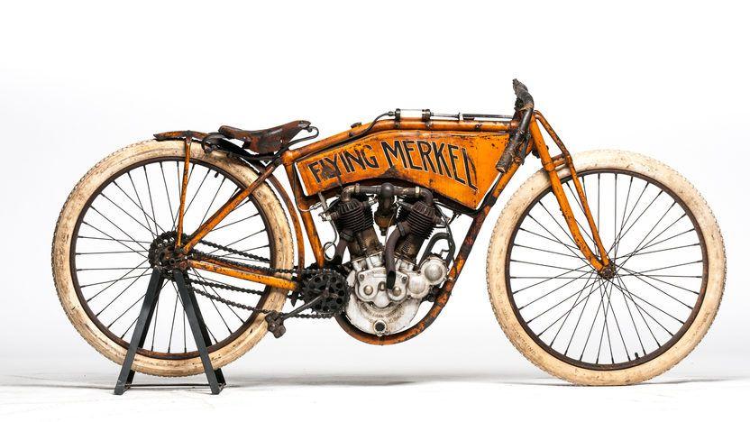 1911 Flying Merkel Board Track Racer Presented As Lot S79 At Las