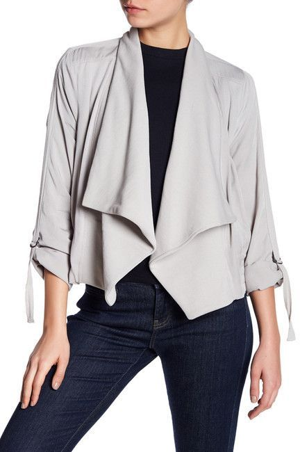 BB Dakota Gayne Draped Jacket