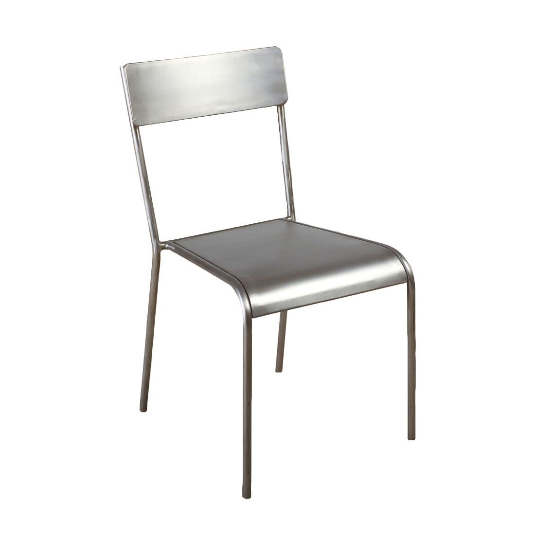 silver brushed metal chair woven. Brushed Metal Classroom Chair   Dotandbo.com I Wonder If They Stack? Silver Woven L