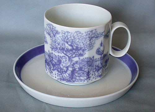 Kaffeetasse 2-teil. Rosenthal Polygon Serenade | eBay