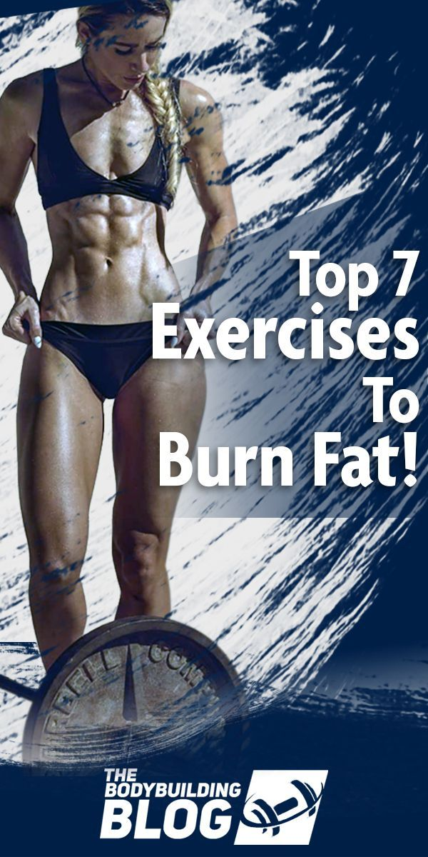 Check out The Top 7 Cardio Exercises that will help you Burn Fat accompanied with a multitude of hea...