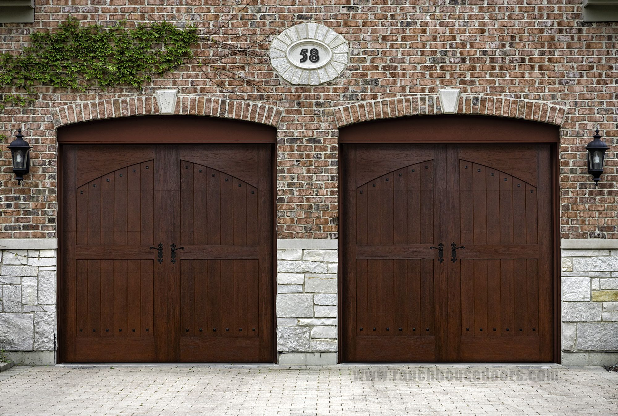 cedar doors manufacturing door wood modern rw garage installation repair