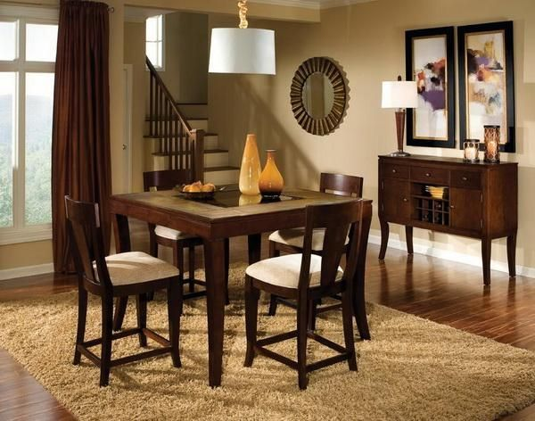 Dining Table Simple Decor