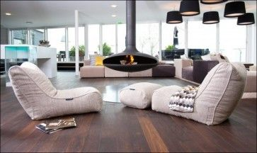 Ambient Lounge Denmark Showroom Contemporary Living Room London Designer Bean Bags