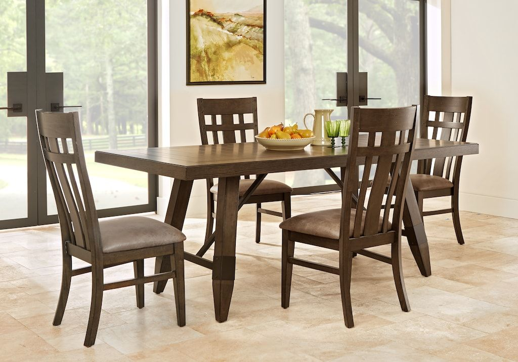 Woodcote Gray 5 Pc Rectangle Dining Room Dining Room Sets Colors