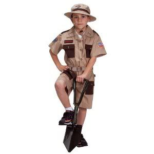 Kids Wild Life Expert Archaeologist Park Ranger Zoo Keeper Halloween Costume