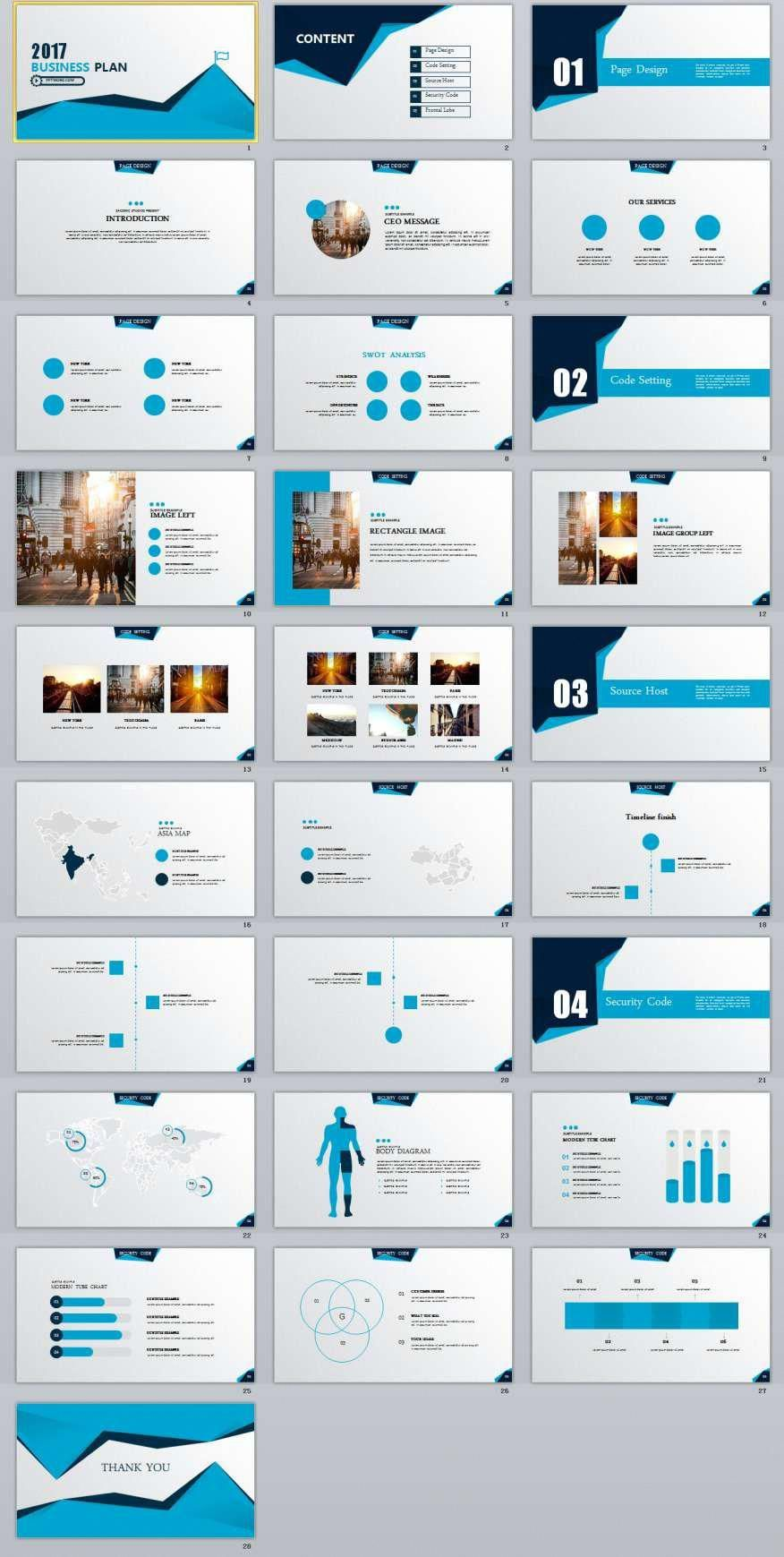 28 Best Business Plan Powerpoint Templates 차트 디자인