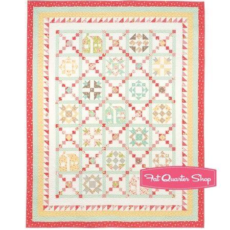 Crossroads Quilt Along Quilt Kit Designed by Joanna Figueroa Exclusively for Fat Quarter Shop - Quilt Kits   Fat Quarter Shop